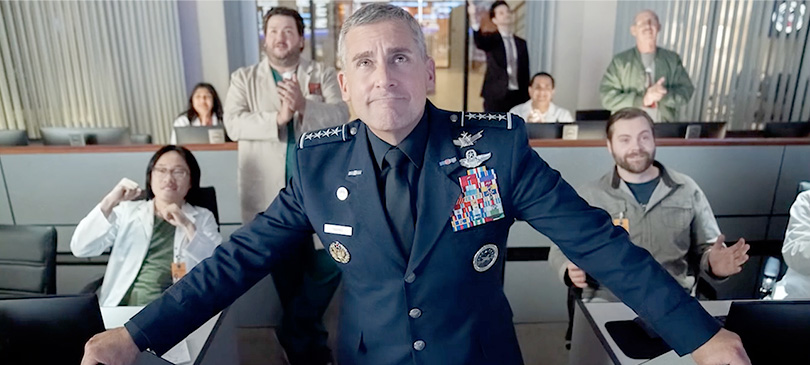 Space Force Netflix Steve Carell serie tv maggio 2020