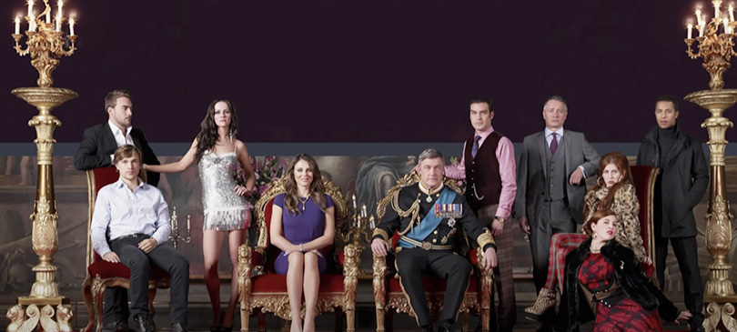 The Royals-serie tv