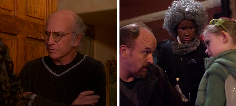 Curb Your Enthusiasm Louie serie episodi Halloween