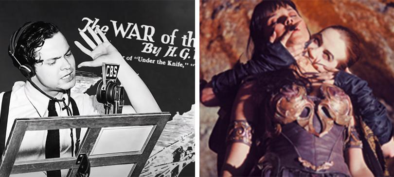 La guerra dei mondi Xena principessa guerriera Halloween