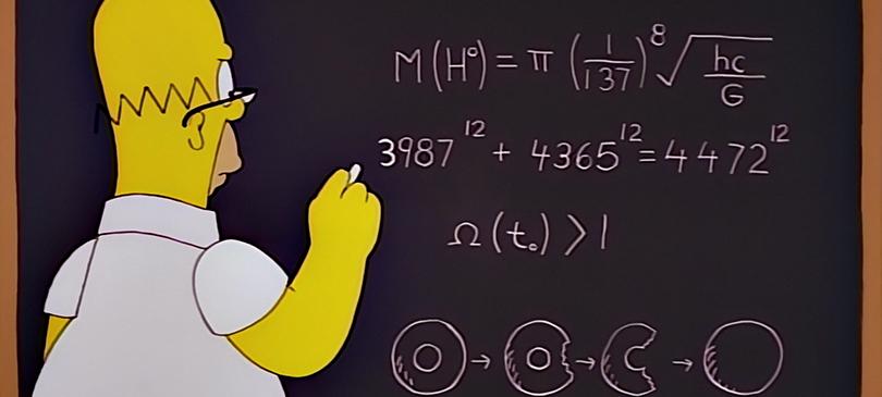 Homer equazione bosone di Higgs