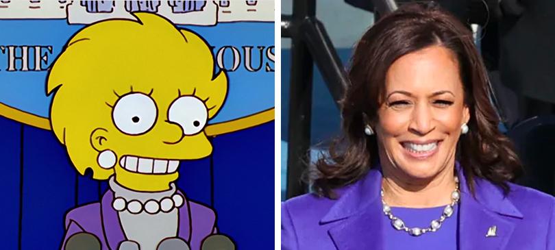 I Simpson Kamala Harris