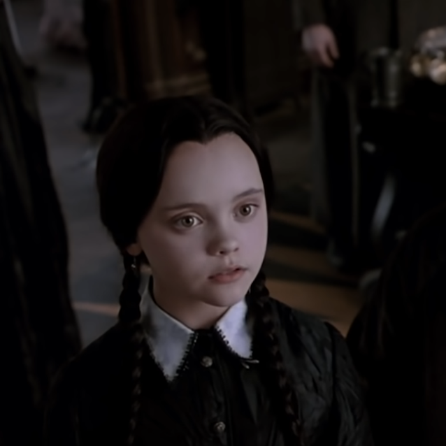Wednesday Addams serie tv Netflix Tim Burton