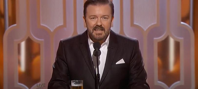 Ricky Gervais Golden Globe 2016