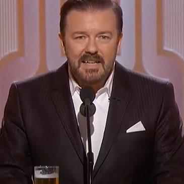 Golden Globe Ricky Gervais NBC